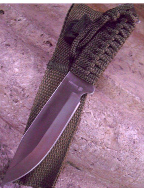 Cuchillo de monte verde