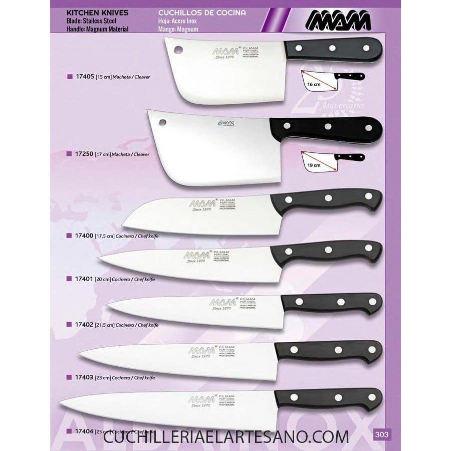Cuchillos de cocina cuchilleria el artesano for Cuchillos de cocina