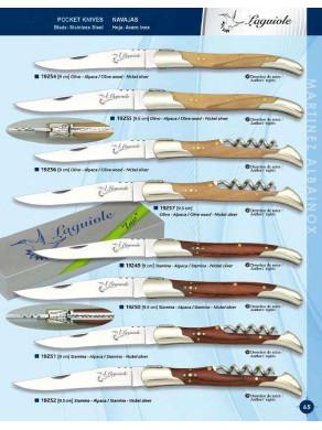 Navaja laguiole en varios modelos