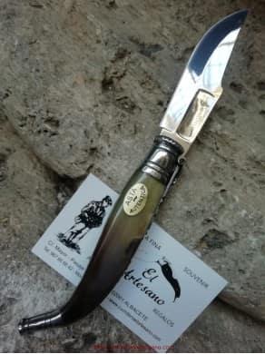 Penknife Albacete bull