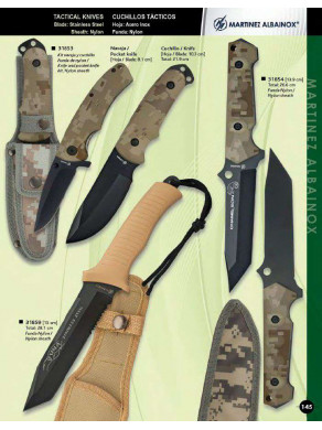 cuchillos tacticos