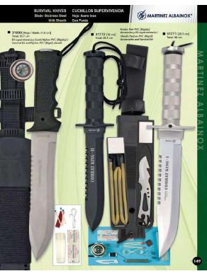 cuchillo de superviivencia...