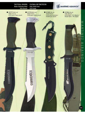 CUCHILLO TÁCTICO COMMANDER, FREEDOM FOREVER Y BLACK BEAR