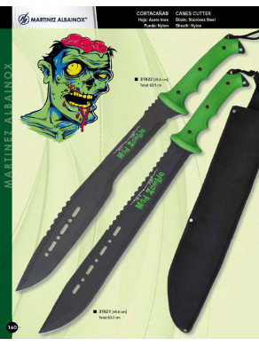 machete cortacañas  mad zombi