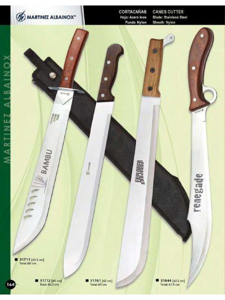 cortacañas madera