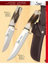 Cuchillo de caza de asta de ciervo
