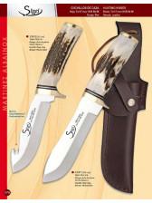 Cuchillo de asta de ciervo de artesanía