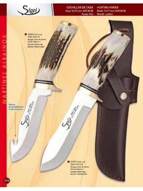 cuchillos de ciervo de artesania