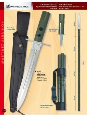 lanza de cuchillo de monte