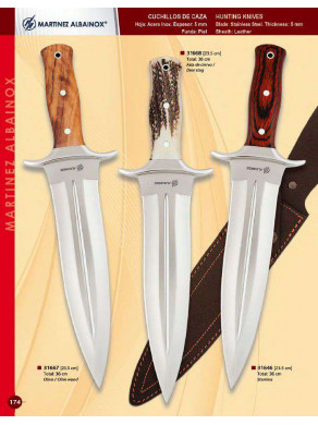 cuchillo de caza de remate