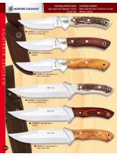 cuchillo de caza de stamina, olivo o ciervo
