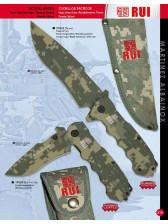 cuchillo tactico y navaja camuflaje rui