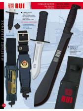cuchillo de supervivencia o cortacañas