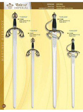 espada colada y tizona