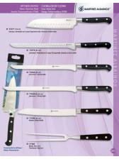 cuchillo de cocina forjados en acero