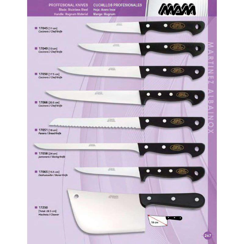 Cuchillos de cocina mam cuchilleria el artesano - Cuchillos de cocina ...