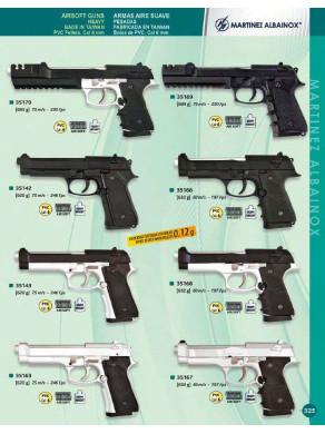 armas pesadas aire suave