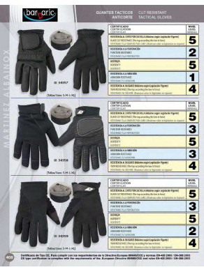GUANTES TACTICOS ANTICORTE