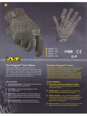 GUANTES TÁCTICOS MECHANIX WEAR