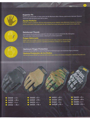 GUANTES MECHANIX WEAR 2