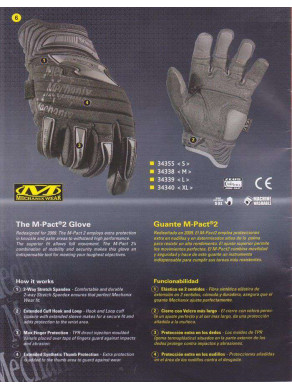 GUANTES MECHANIX WEAR 3