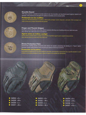 guantes tactico merchanix wear 4