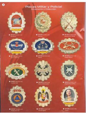 placas militares y policiales