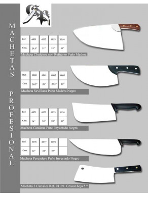 machetas profesional