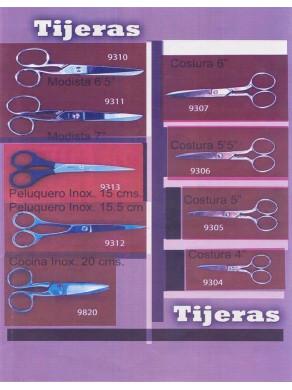 tijeras de costura , peluqueria y cocina