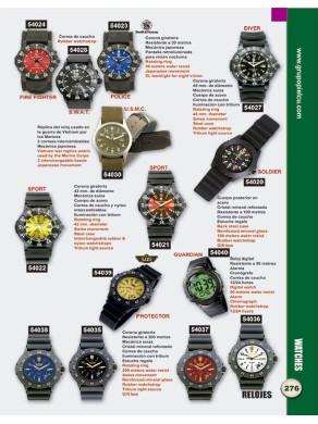 reloj de varios tipos