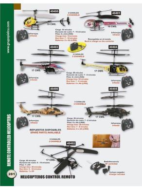 helicopteros control remoto