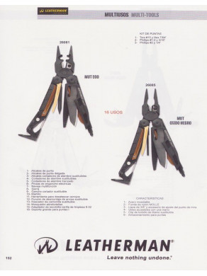 ALICATE LEATHERMAN