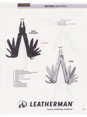 Alicate Leatherman REBAR