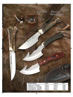 cuchillos desolladores...