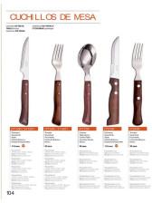 cuchillos y tenedores de mesa de ARCOS