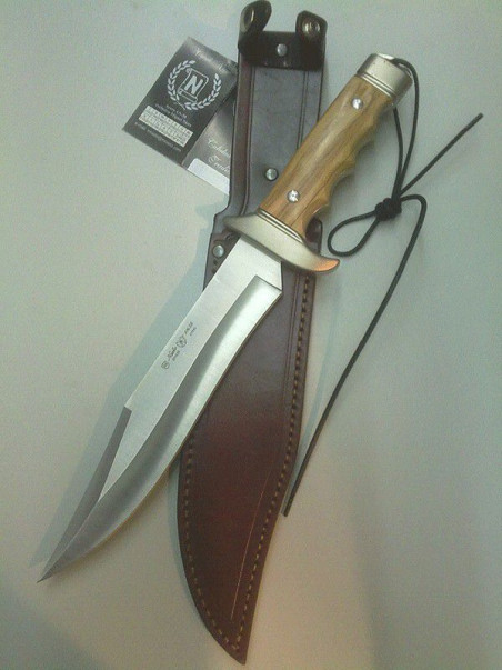 cuchillo de monte cetreria 4404 NIETO