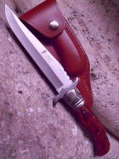 cuchillo plegable laguiole rojo