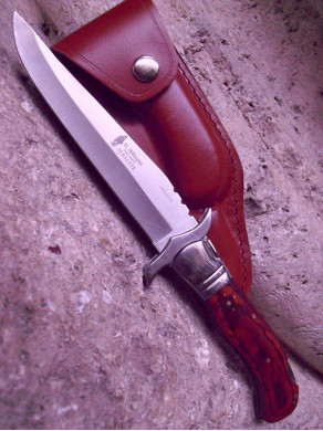 Knife folding Laguiole red