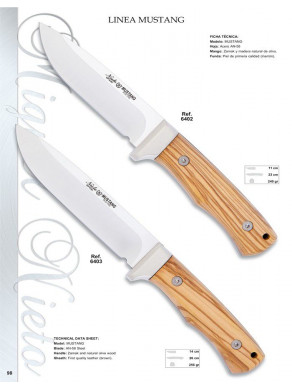 EXCLUSIVO CUCHILLO LINEA...
