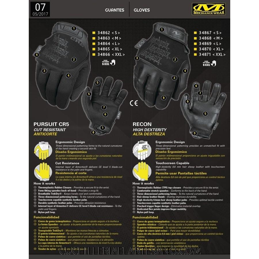 GUANTE MECHANIX WEAR N