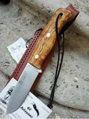 EXCLUSIVO CUCHILLO EMBER OLIVO PEDERNAL JOKER