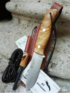 EXCLUSIVO CUCHILLO EMBER ABEDUL PEDERNAL JOKER
