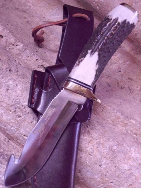 Cuchillo de artesania de ciervo 31911
