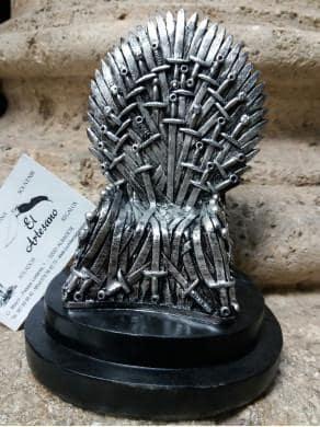 Réplica en miniatura trono de hierro Juego de Tronos ref S6020