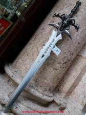 Réplica espada Frostmourne World of Warcraft ref S0176