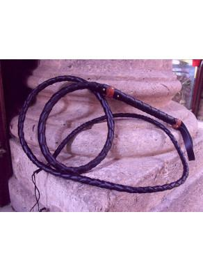 Leather whip of 260 cm