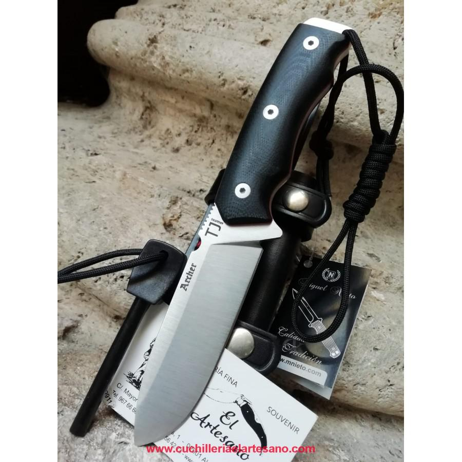 EXCLUSIVO CUCHILLO ARCHER G10 DE NIETO