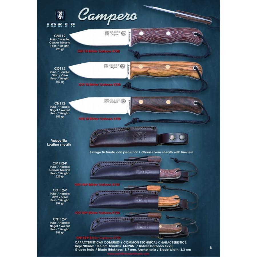 NOVEDAD CUCHILLO BS9 JOKER CAMPERO
