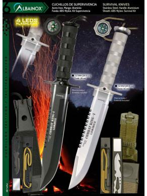 NOVEDAD CUCHILLO DE SUPERVIVENCIA COMBAT KING I LUMINOX