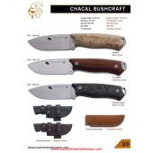 CUCHILLO CHACAL BUSHCRAFT PIEL J&v